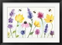 Framed Bee Harmony I