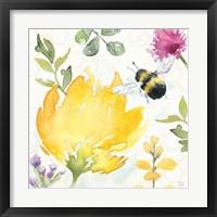 Framed Bee Harmony II