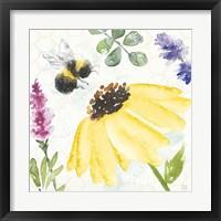 Framed Bee Harmony III