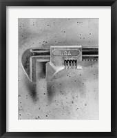 Framed USA Wrench