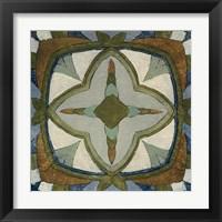 Framed Old World Tile X