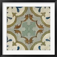 Framed Old World Tile VIII