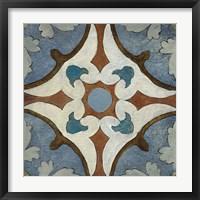 Framed Old World Tile VII