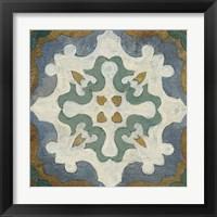 Framed Old World Tile VI