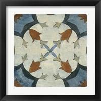 Framed Old World Tile V