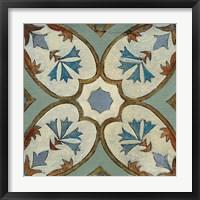 Framed Old World Tile IV