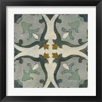 Framed Old World Tile III