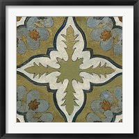 Framed Old World Tile II