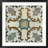 Framed Old World Tile I
