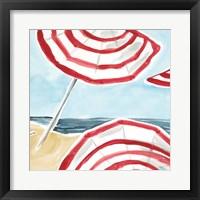 Framed Stripes on the Beach II