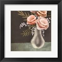 Framed Pink Roses