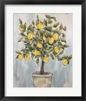Framed Lovely Lemons