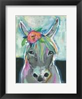 Framed Sweet Donkey