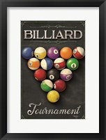 Framed Billiards Tournament