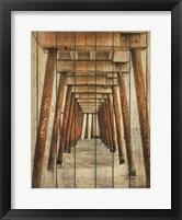 Framed Vintage Under Dock