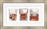 Framed Bourbon Glasses 1