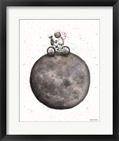 Framed Bike on Moon