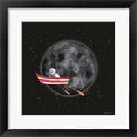 Framed Sail to the Moon