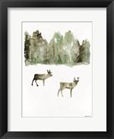 Framed Reindeer 1