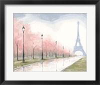 Framed Paris au Printemps I