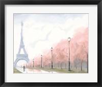 Framed Paris au Printemps II