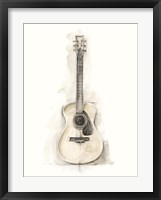 Framed Ethan's Guitar I