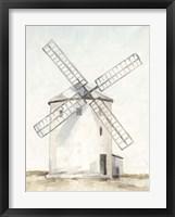 Framed European Windmill I