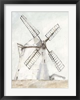 Framed European Windmill II