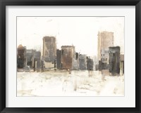 Framed City Vista I
