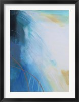 Framed Blue Wash I