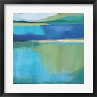 Framed Lagoon I