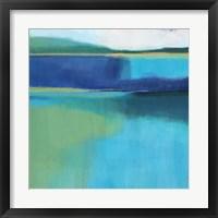 Framed Lagoon II