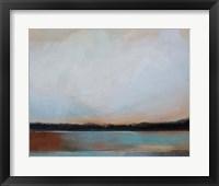Framed Blue Sunset