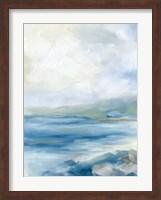 Framed Rocky Shoreline