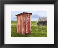 Framed Barn Scene XIII