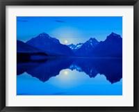 Framed Mountainscape Photograph II