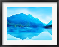Framed Mountainscape Photograph III