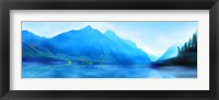 Framed Mountainscape Panorama II