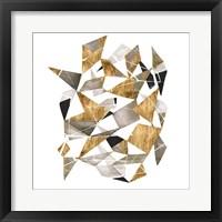Framed Gilded Chrysalis I