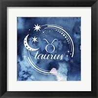 Framed Watercolor Astrology II