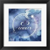 Framed Watercolor Astrology IV