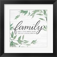 Framed Family on Shiplap I