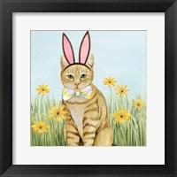 Framed Easter Cats IV