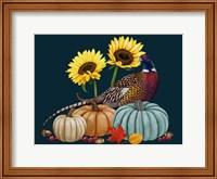 Framed Pheasant Harvest I