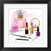 Framed Makeup Counter I