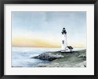 Framed Lighthouse Bay II