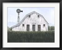 Framed Blueridge Barn I