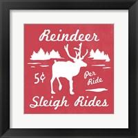 Framed Reindeer Rides II