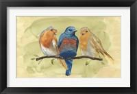Framed Bird Perch II