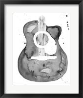 Framed Guitar Flow I